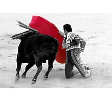 Matador and Bull. 1 Photographic Print