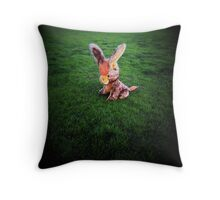 donkey days Throw Pillow