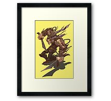 Rogue with two Swords Framed Print