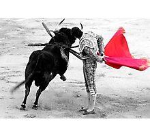 Matador and Bull. 4 Photographic Print