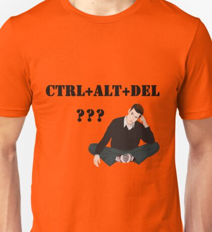 Computer! Ctrl+Alt+Del! Humor! Unisex T-Shirt