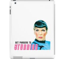Set phasers to stunning, Mr. Spock iPad Case/Skin