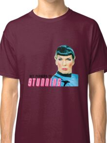 Set phasers to stunning, Mr. Spock Classic T-Shirt