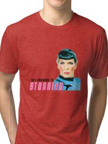 Set phasers to stunning, Mr. Spock Tri-blend T-Shirt