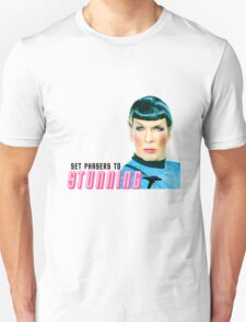 Set phasers to stunning, Mr. Spock Unisex T-Shirt