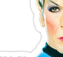 Set phasers to stunning, Mr. Spock Sticker