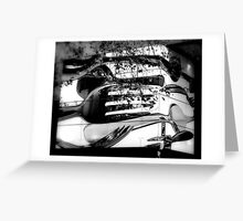 Cutlery Corner Greeting Card
