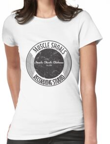 Muscle Shoals Recording Studio Womens Fitted T-Shirt