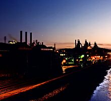 Blast furnaces - Bethlehem Pa. by DJ Florek