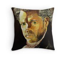 A man of interest Throw Pillow