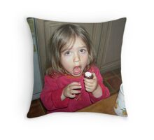 Those sweets are a total embarrassment! Throw Pillow