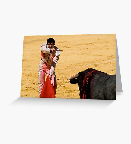 The Matador Greeting Card