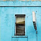 Window on Blue by Stephen Mitchell