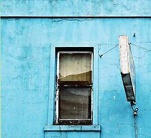 Window on Blue by Stephen Mitchell