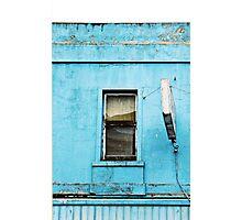 Window on Blue Photographic Print