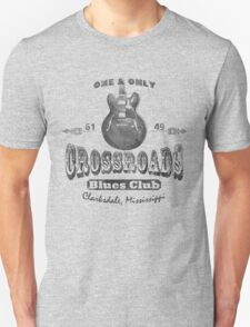 Black Crossroads Blues Club T-Shirt