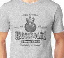 Black Crossroads Blues Club Unisex T-Shirt