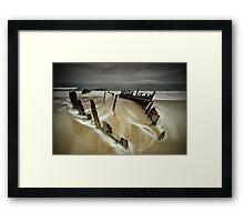 Stormy Dickie Framed Print