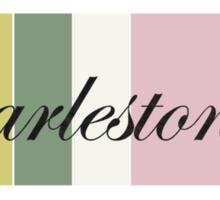 Charlestonian Rainbow Row Sticker