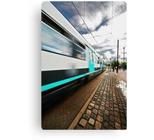 MANCHESTER-METRO-LINK-TRAM Canvas Print