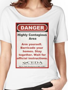 Contagious Women's Relaxed Fit T-Shirt