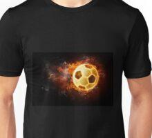Soccer Fire Ball Unisex T-Shirt