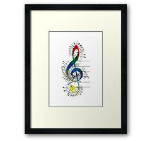The Sight of Music (6) Framed Print