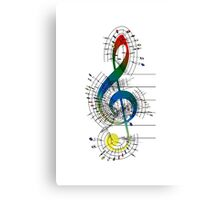 The Sight of Music (6) Canvas Print