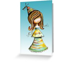 Party Girl Sky Greeting Card