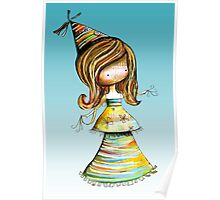 Party Girl Sky Poster