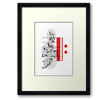 The Sight of Music (5) Framed Print