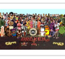 Sgt. Pepper Spoof full Sticker