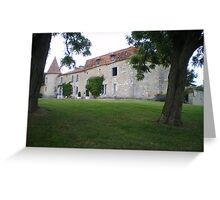 Chateau Greeting Card