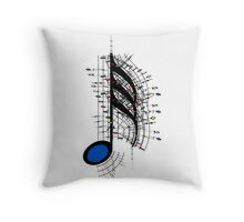 The Sight of Music (8) Throw Pillow