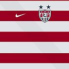 USWNT 2012 Home Jersey by seeaykay