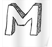"Doodle - The Mighty ""M"" Poster"