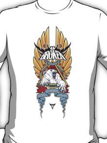 Polar Bear Natas Tribute Broken Skateboards T-Shirt