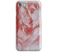 Blood and Kisses iPhone Case/Skin