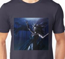 Woman under water Unisex T-Shirt