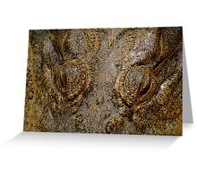 Reptile Eyes Greeting Card