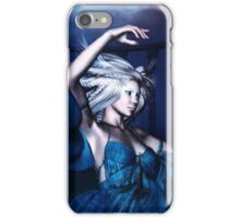 Woman under water 2 iPhone Case/Skin