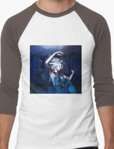 Woman under water 2 Men's Baseball ¾ T-Shirt
