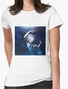 Woman under water 2 Womens Fitted T-Shirt