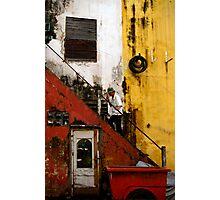 Stair way in Saigon Photographic Print