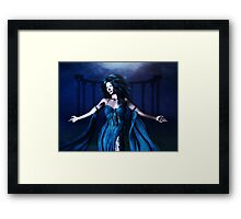 Woman under water 3 Framed Print