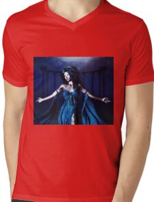 Woman under water 3 Mens V-Neck T-Shirt