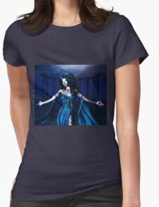 Woman under water 3 Womens Fitted T-Shirt