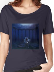 Woman under water 4 Women's Relaxed Fit T-Shirt