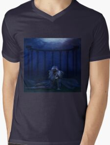 Woman under water 4 Mens V-Neck T-Shirt