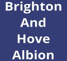 Brighton and Hove Albion by Sportsmad1